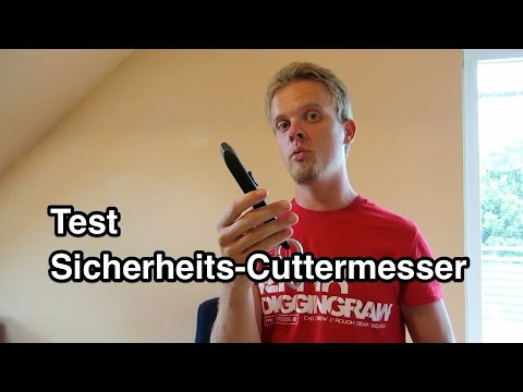 Test Sicherheits-Cuttermesser | Cuttermesser Test | Teppichmesser Test