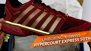video Unboxing K-Swiss Hypercourt Express 50th