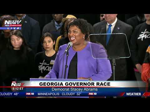 GEORGIA RACE OVER: Democrat Stacey Abrams Ends Challenge For Governor Race