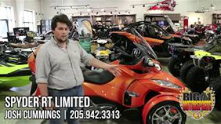 10. 2019 Can-Am Spyder RT Limited walk-around