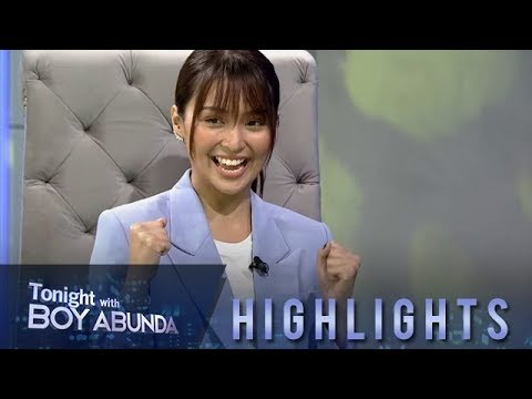 TWBA: Kathryn learns that Daniel Padilla wants the same type of wedding that she dreams of