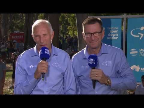 Santos Women's Tour update with Phil and Paul