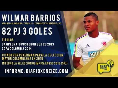 Así juega Wilmar Barrios, volante colombiano