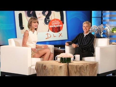 The Ellen Show - Her new album drops today, and she was here to Ellen all about it.