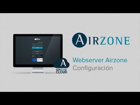 Webserver Airzone Cloud: configuración