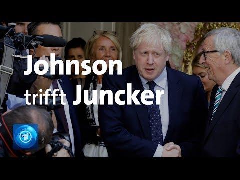 EU/Großbritannien: Treffen zwischen Johnson und Juncker bleibt ohne Ergebnis