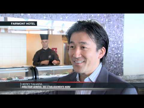 L'enseigne Nobu s'installe au Fairmont Htel