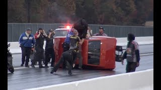 CRAZY WRECKS - Insanely Close Call (Camera Man Escapes Wreck by Inches!) by  That Racing Channel