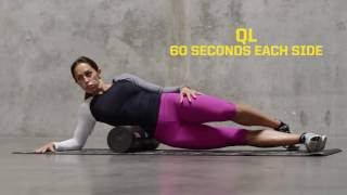 SKLZ Trainer Roller Lower Body Recovery Warmup Workout