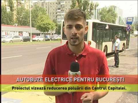 Autobuze electrice pentru Bucureşti