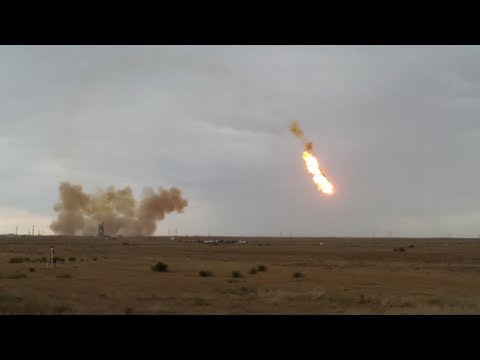 Rocket launch fail in Russia