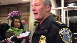 Ferrelview (MO) United States  City new picture : Chief Flynn after Nov. 6 police commission meeting
