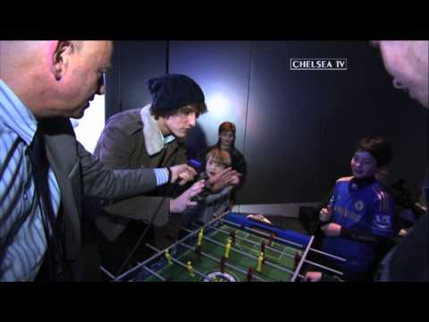 Table football: David Luiz v Oscar