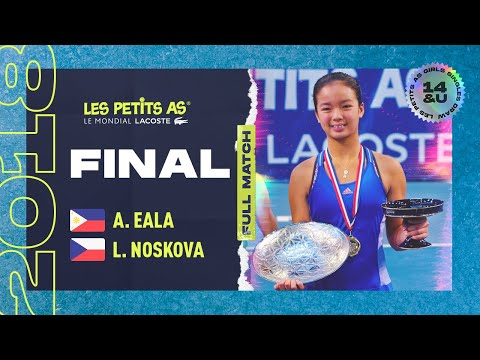 Les Petits As 2018 | Girls Final | Alexandra Eala vs. Linda Noskova