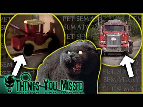 47 Things You Missed In Pet Sematary (1989)