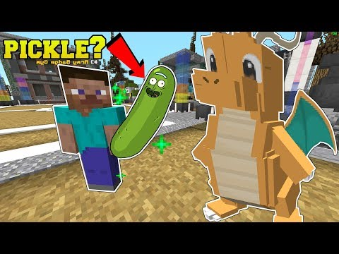 Minecraft: CARTER'S PICKLE MISSION!!! - POPULARMMOS WORLD [8] (видео)