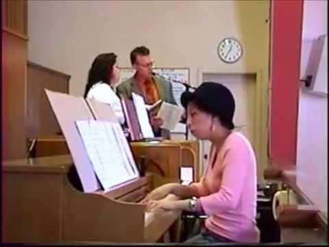 Andrea Flores & Anthony Reichardt - THE PEACE OF GOD  (David Haas)  (5-1-05)