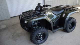 6. 2014 TRX420FM2E Rancher 420 Foot Shift + Power Steering ATV SALE / Honda of Chattanooga TN