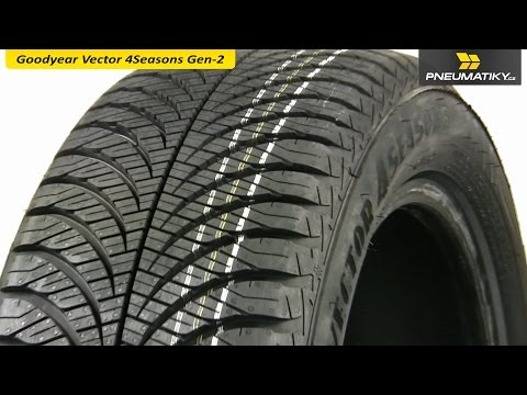 Youtube GoodYear Vector 4Seasons Gen-2 185/60 R15 84 T Celoroční