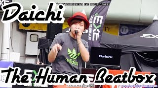 "Daichi ''HUMAN BEAT BOXER'' Live Performance @ adidas ""3×3 TOURNAMENT.EXE 2013 in OSAKA"""