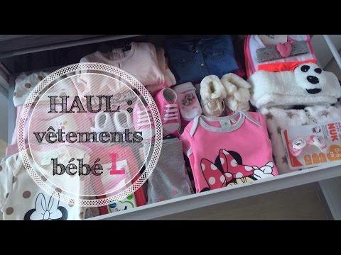 ♡ HAUL : Vêtements bébé ( Partie 1/2 )