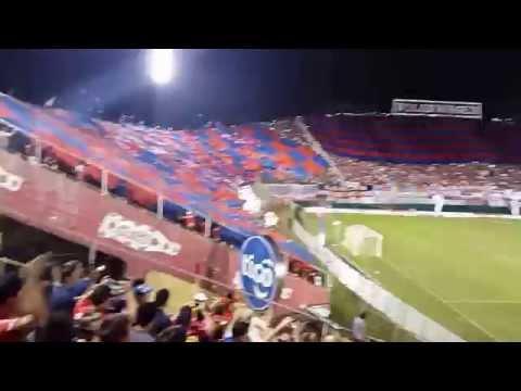 Gran recibimiento de Cerro Porteño, campeón del Apertura 2015 ante San Lorenzo - La Plaza y Comando - Cerro Porteño