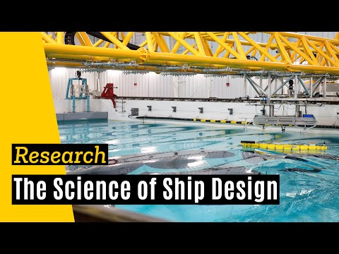 Hydrodynamic - Professor Fred Stern of the University of Iowa College of Engineering describes the new $4.9 million wave basin facility at the University of Iowa's research...