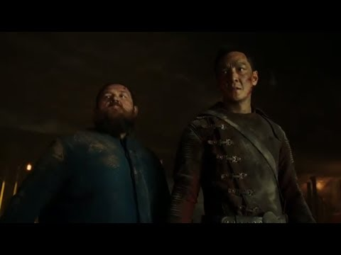 Sunny and Bajie fight Quinn's loyalist at the bunker   Into the badlands