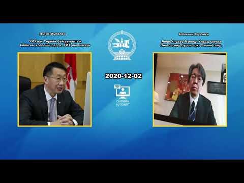 УИХ-ын гишүүн Л.Энх-Амгалан Японы элчин сайдтай цахим уулзалт хийлээ