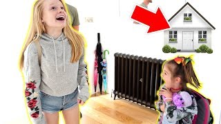 Video OUR NEW HOUSE REVEAL TO KiDS 😍 **FiNALLY MOViNG iN!** MP3, 3GP, MP4, WEBM, AVI, FLV September 2018