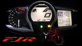 7. Yamaha FJR 1300 Dash Review - Gen III