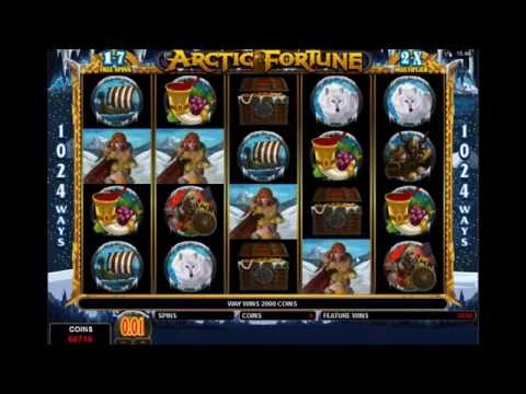 ARCTIC FORTUNE +BIG WIN! +FREE SPINS! online free slot SLOTSCOCKTAIL microgaming