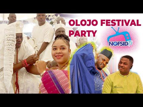 OLOJO FESTIVAL RECEPTION PARTY||OONI OF IFE||QUEEN NAOMI SISTER|| OBESERE||YINKA AYEFELE