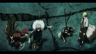 The Hokages Arrive on the Battlefield - English Dub
