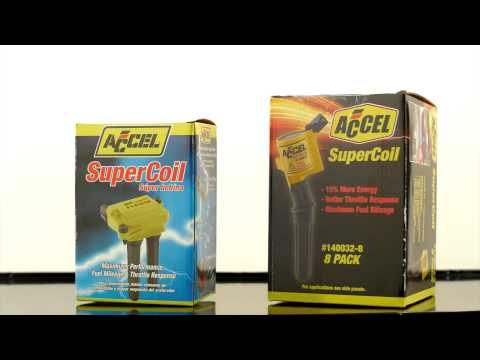 Benefits of ACCEL SuperCoils Coil on Plug
