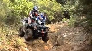 8. ATV crash Dany Sportsman 500 ho