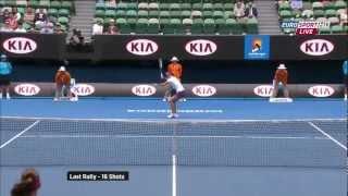 Tennis Highlights, Video - [FULL HD] Radwanska - Li-Na Australian Open 2013 - 1080p