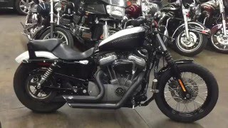 3. 2008 Harley Davidson Sportster 1200 nightster