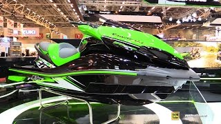 7. 2016 Kawasaki Ultra 310 R Jet Ski - Walkaround - 2015 Salon de la Moto Paris