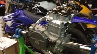 8. Yamaha WR450F 2013 Engine