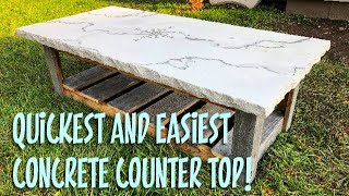 Video How to make a Concrete Counter Top in 1 hour! MP3, 3GP, MP4, WEBM, AVI, FLV Juli 2019