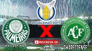 Veja o jogo do Palmeiras 0 x 2 Chapecoense 20/08/2017 Campeonato Brasileiro 2017 Gols e Melhores Momentos AO VIVO.