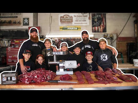How to Butcher a Deer at Home Economy Style (Make Your Deer Meat Last All Year) The Bearded Butchers