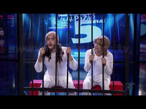 Al Pazar - Keshilla nga dy te cmendur - Show Humor - Vizion Plus