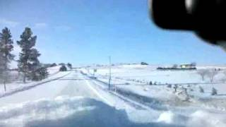 Sidney (NE) United States  City pictures : Snowy Commute 2/19 in Sidney, NE - Mobile video by Scott Johnstone