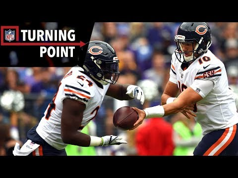 Video: Trubisky & Howard Help Bears Steal a Win Against the Ravens (Week 6) | NFL Turning Point