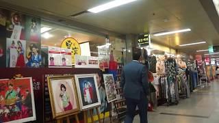 [Walking tour 漫步遊] Underground street Myeongdong Seoul 南韓 首爾 明洞地下街