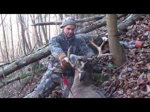 2010 Recurve Bow Hunt Big 10 Point Buck Pa
