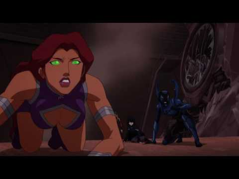 Teen Titans Vs  Deathstroke And Brotherblood Part 1