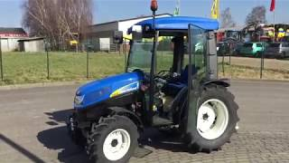 Обзор мини-трактора New Holland T3030. Browse mini-tractors New Holland T3030.